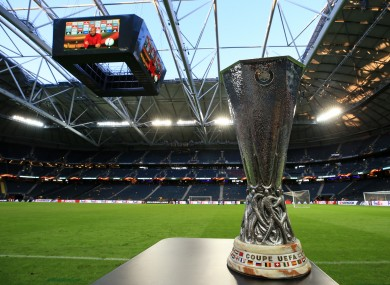 The Europa League final takes place tonight.
