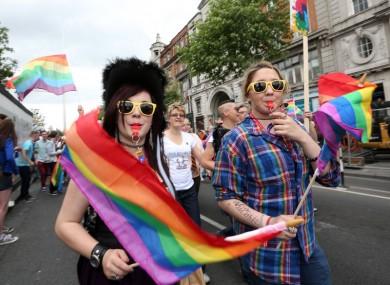 2015's Dublin Pride Parade