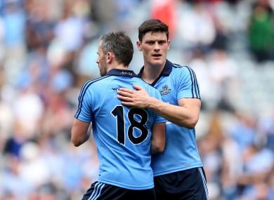Alan Brogan and Diarmuid Connolly were part of Dublin All-Ireland winning sides.