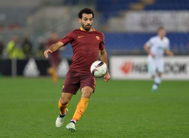 Salah has been the standout performer for Roma over the last two seasons.