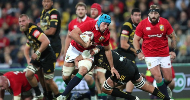 As it happened: Hurricanes v The Lions
