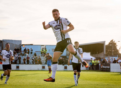 Patrick McEleney has scored a number of outstanding goals this season for Dundalk.