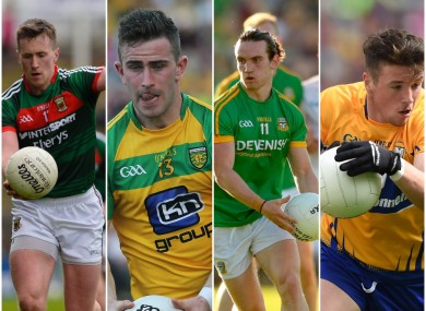 O'Connor, McBrearty, O'Sullivan and Sexton will all be key for their counties.