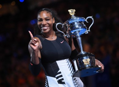 Serena Williams doesn't need to prove herself against male opposition.