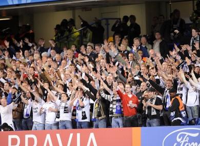Rosenborg fans (file pic).