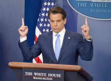 Anthony Scaramucci is in hot water over the comments.