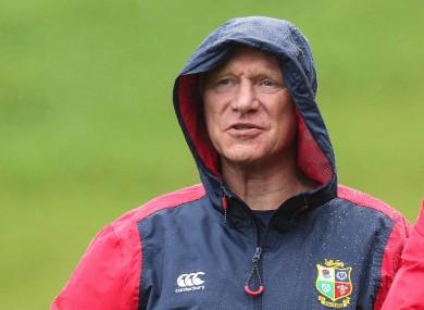 British and Irish Lions manager John Spencer.