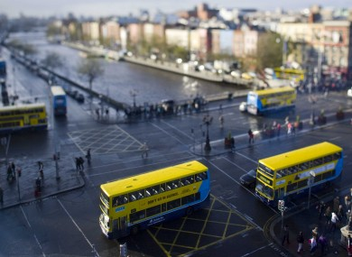 The proposed plans would drastically change the bus service in Dublin