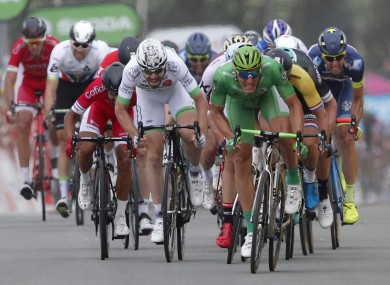Kittel: 13 stage wins is a record for a German rider.