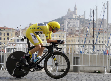 94ef7dd99 Froome all but home and hosed for fourth title while Martin records  best-ever Tour finish
