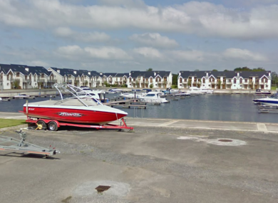 The Harbour View area where the teenage boy drowned this evening.