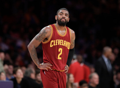 kyrie irving 2017