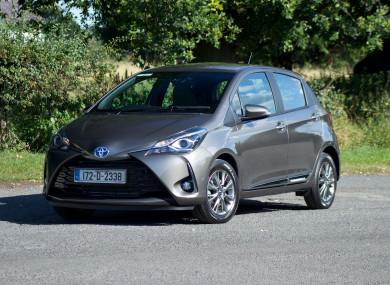review the toyota yaris hybrid is a one of a kind small hybrid for city living. Black Bedroom Furniture Sets. Home Design Ideas