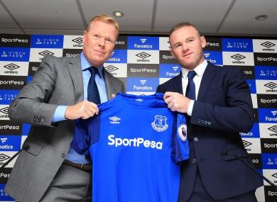 Wayne Rooney made his official return to boyhood club Everton earlier this week.