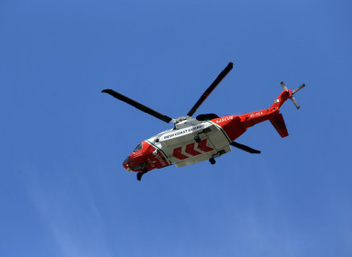 File photo. The man was airlifted to Tallaght Hospital, and later brought to Beaumont.