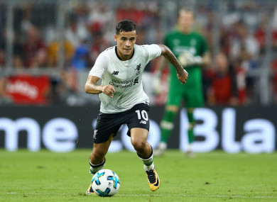 de663c08d 'Coutinho will want to wear that shirt and go to Barcelona', says Jamie  Carragher
