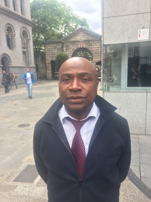 Sammy Akorede said that dealing with racism is a daily occurrence on Dublin's Luas network.