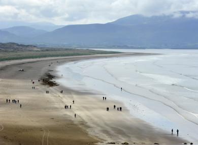 Inch Beach on the Dingle peninsula.