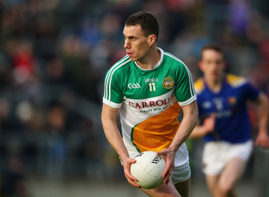 End of an era: McNamee has hung up his inter-county boots.