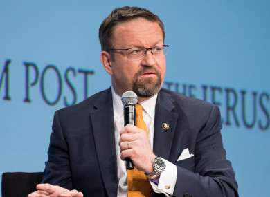 Sebastian Gorka regularly appeared on TV to defend Donald Trump.