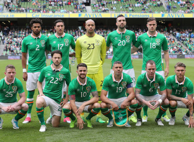 Ireland face a crucial qualifier against Georgia this weekend.