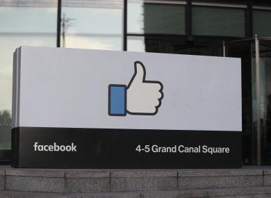 Facebook HQ in Dublin.