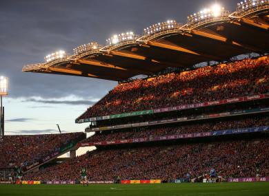 Last year's All-Ireland final replay in Croke Park.