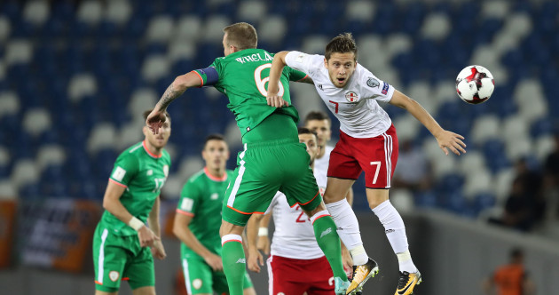As it happened: Georgia v Ireland, 2018 World Cup qualifier