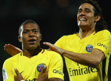 size 40 ecf34 b1f89 Wenger hails Mbappe as 'the new Pele' after goalscoring PSG ...