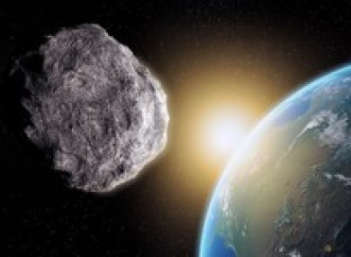 File photo of an asteroid.