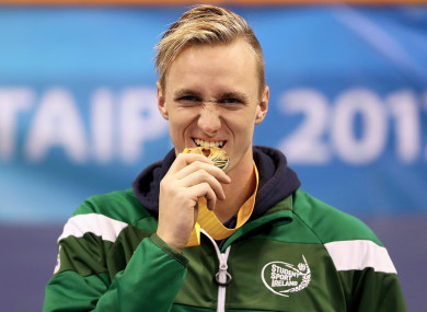 Shane Ryan picked up gold in the 50m backstroke.