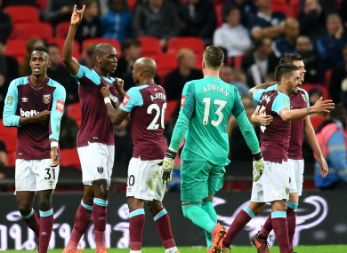Andre Ayew hit a brace, while Angelo Ogbonna sealed the win.