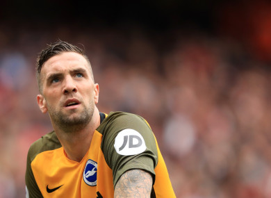 Duffy has started all eight of Brighton's Premier League games this season.