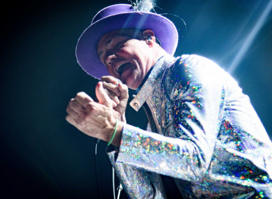 Gord Downie at Toronto's Air Canada Centre last year.