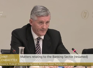 Padraic Kissane told the Oireachtas Finance Committee that many customers are being told they are not impacted, even though their documentation shows otherwise.