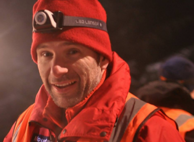 Kevin Hallahan died while training in Wales.