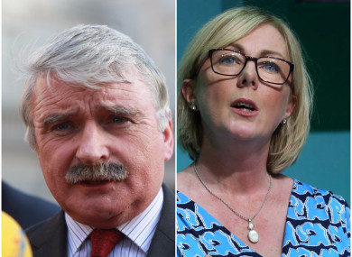 Willie O'Dea and Regina Doherty took to the airwaves today to disagree on pension reform