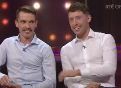 Shane O'Driscoll and Mark O'Donovan.