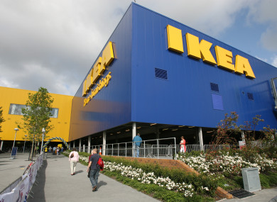 Ikea in Dublin.