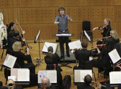 Patrick Rafter leading the RTE Concert Orchestra in Hanz Zimmer's 'The Pirates of the Caribbean: At World's End'
