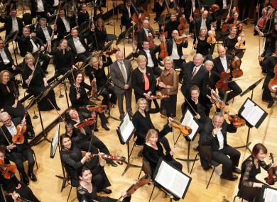 RTÉ's National Symphony Orchestra at the National Concert Hall.