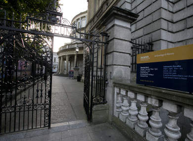 The National Museum in Dublin.