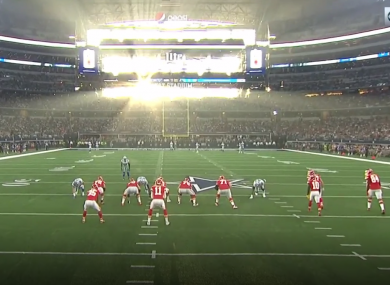 Tyreek Hill somehow scored from here.