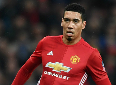 Chris Smalling (file pic)