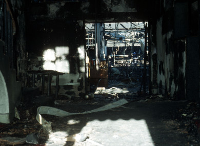 The aftermath of the Stardust fire in 1981
