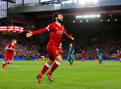 Liverpool vs Arsenal: Phong độ hủy diệt, Liverpool chễm chệ ngôi đầu bảng