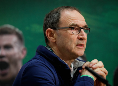 Martin O'Neill is hoping to guide Ireland to their first World Cup since 2002.