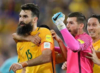 Mile Jedinak was the hero for Australia.