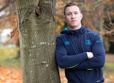 O'Loughlin is set to start Leinster's Pro14 clash with Dragons tomorrow evening.