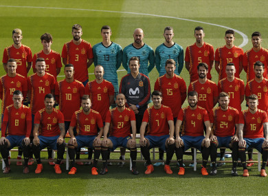 5636b2eadf8 Spain's World Cup 2018 jersey is creating controversy and here's why